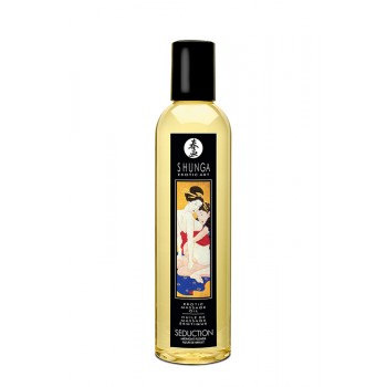 Óleo de Massagem Erótico Seduction Midnight Flower Shunga 250ml