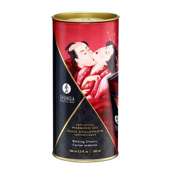 Óleo Massagem Afrodisiaco Cereja Blazing Cherry 100ml