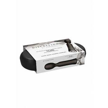 Vibrador Clássico Jewel c/ Caixa Recarregável Discretion Preto