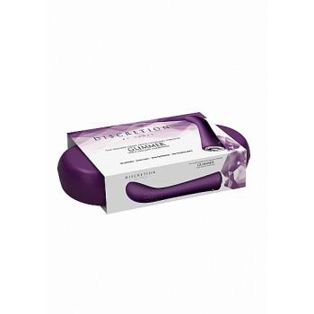 Vibrador Ponto-G Glimmer c/ Caixa Recarregável Discretion Roxo
