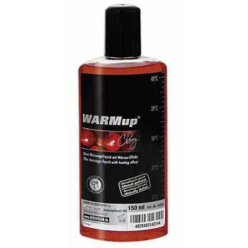 Óleo Massagem  WARMup Cereja, 150ml