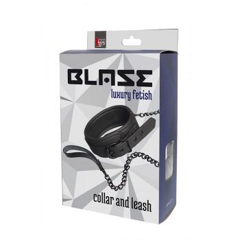BLAZE COLLAR AND CHAIN BLACK