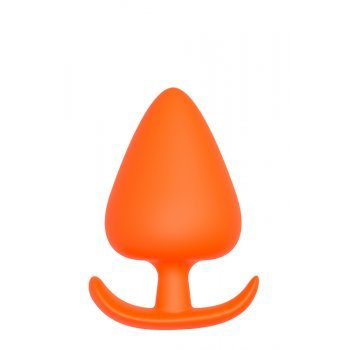 Plug Anal T-Handle Silicone Dream Toys 11.6cm Laranja