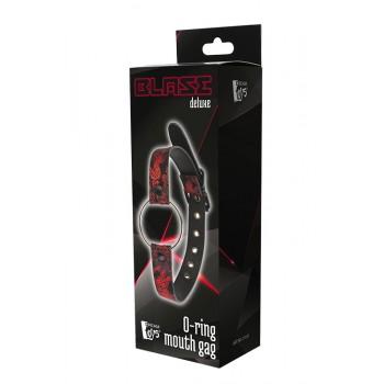 Gag Aberto O-Ring Blaze Deluxe Vermelho