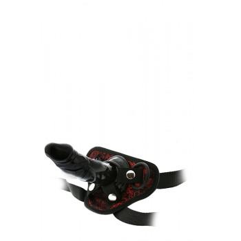 Strap-on Dildo 13cm Blaze Deluxe Preto