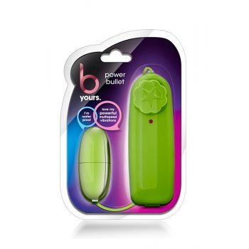 Bala Ovo Vibratório bYours Power Bullet Lime Verde