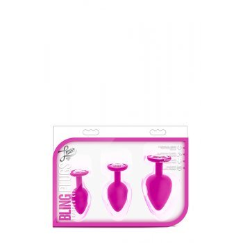 Conjunto Plugs Anais Luxe Bling Training Rosa