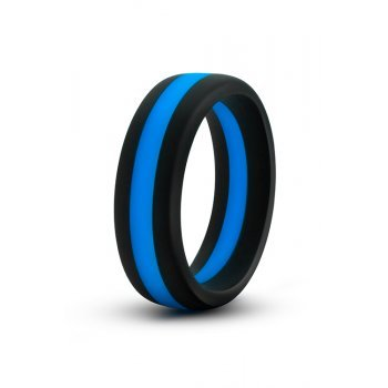 Anel Pénis Silicone Performance Go Pro Azul