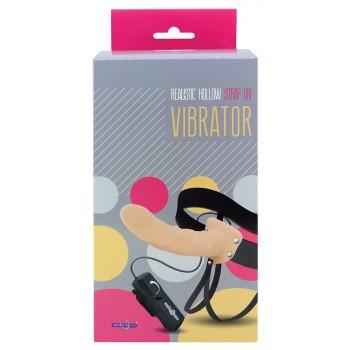 Strap-on Realista para Homem com Vibração Pele