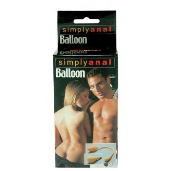 Plug Anal Inflável Simply Anal Balloon Pele