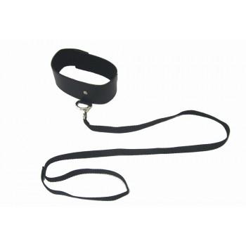 Black Leash  Collar