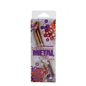 Vibrador Precious Metal Slims-G Bronze