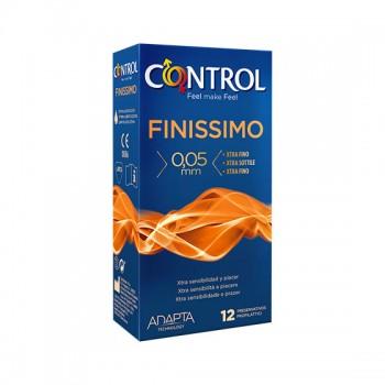 Caixa 12 Preservativos Finissimo Control