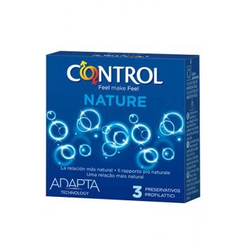 Caixa 3 Preservativos Nature Control