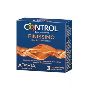 Caixa 3 Preservativos Finissimo Control