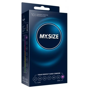Caixa 10 Preservativos MY.SIZE 69mm