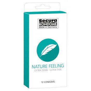 Caixa 12 Preservativos Secura Nature Feeling