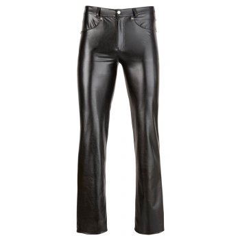 M. Imitat. Leather Trousers L